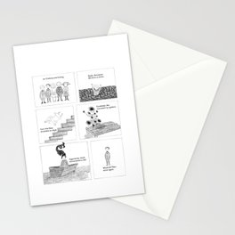 An Unfortunate Outing - Frames Stationery Cards