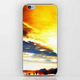 Fire Clouds iPhone Skin