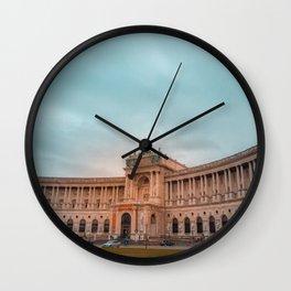 Hofburg Imperial Palace Wall Clock