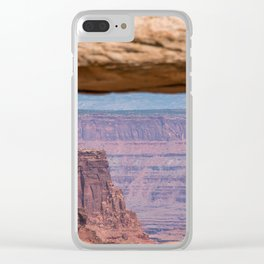 Canyonlands Clear iPhone Case