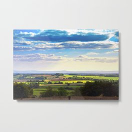 South Downs Beacon Hill Hampshire England Metal Print