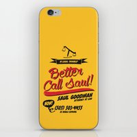 better call saul iPhone & iPod Skins featuring Better Call Saul by Krikoui