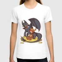how to train your dragon T-shirts featuring How to Train your dragon! by SweetOwls