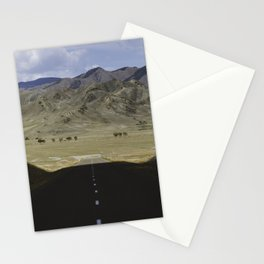 In the land of the Mongols Stationery Cards