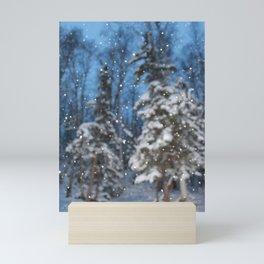 Bright Winter Snow Mini Art Print