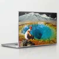 history Laptop & iPad Skins featuring CLEAR HISTORY by Beth Hoeckel