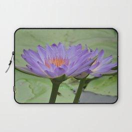 Blue Water Lilies in Hangzhou Laptop Sleeve