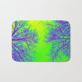 Rainbow Trees of Life Bath Mat