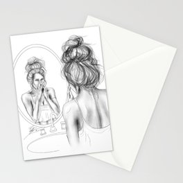 Glowing skin is always in Stationery Cards