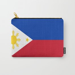flag of philippines Carry-All Pouch