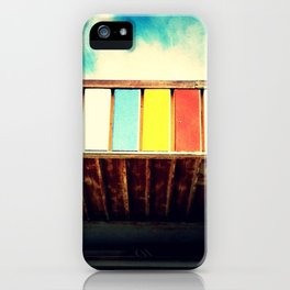 Colorful Awning iPhone Case