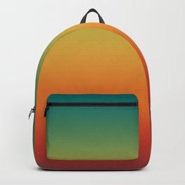 Colorful Trendy Gradient Pattern Backpack