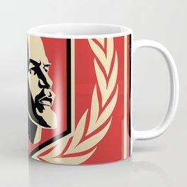 Emblem Lenin Face & CCCP Coffee Mug