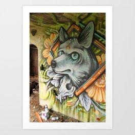 Coyote Spirit Art Print