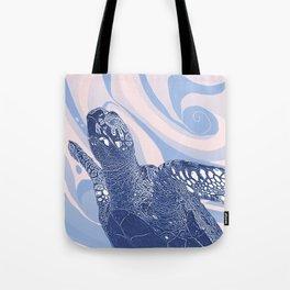 Unique Turtle Design Tote Bag