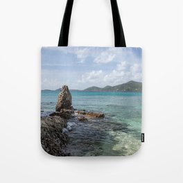 Caribbean Beach Photograph Tote Bag
