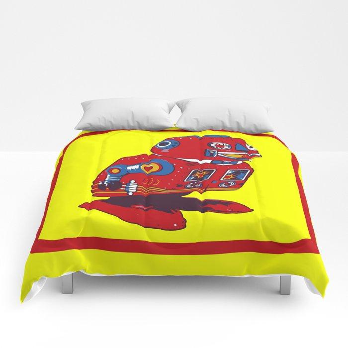 Robot V Comforters