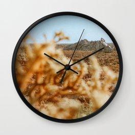 A Climb Out Yonder Wall Clock