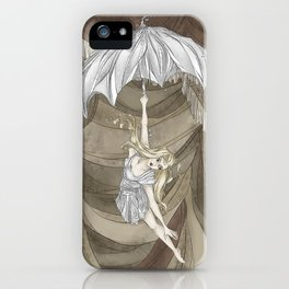 Midnight Circus: the Acrobats iPhone Case