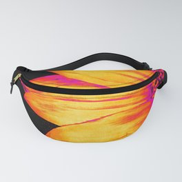 Sunflower Hot Pink Yellow Fanny Pack