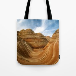 The Wave-Paria Wilderness Tote Bag
