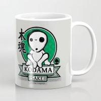 kodama Mugs featuring Kodama Sake by adho1982