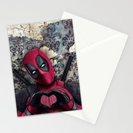 Dead pool - Sweet superhero Stationery Cards