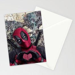 Dead pool - Sweet superhero Stationery Cards