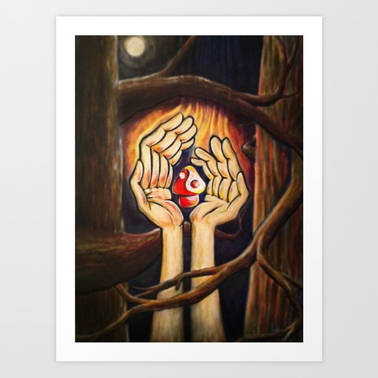 The Fruit of Duality Art Print