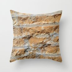 Cut Stone Throw Pillow