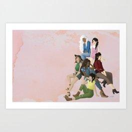 Atladies Art Print