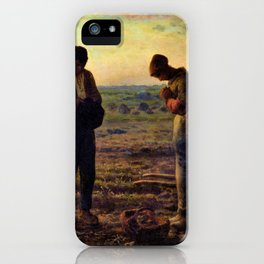 The Angelus - Digital Remastered Edition iPhone Case