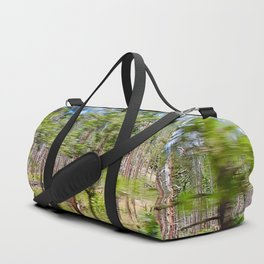 Tree Blur Duffle Bag