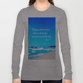 Psalm 19 Long Sleeve T-shirt