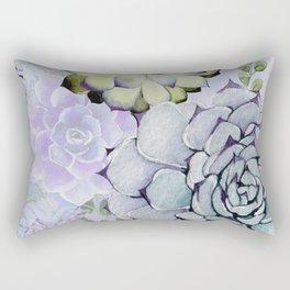 Pekinese Garden Rectangular Pillow