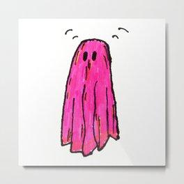 Ghost! Metal Print