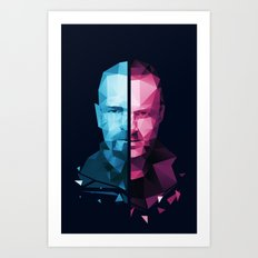 BREAKING BAD - White/Pinkman Art Print