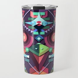BirdMask Visuals - Buzzard Travel Mug