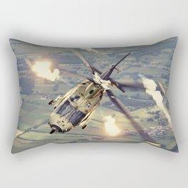A-109 Flares Rectangular Pillow
