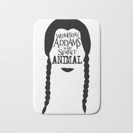 Wednesday Addams is my Spirit Animal Bath Mat