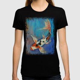 Sanke Butterfly Koi T-shirt