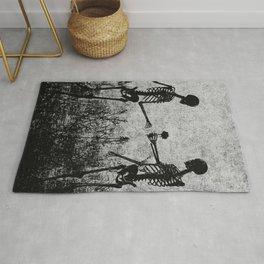 skeleton lovers Rug