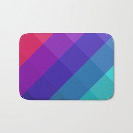 Cubical Colors Bath Mat