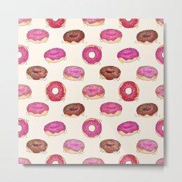 Homemade Doughnuts  Metal Print
