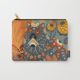 Foliage Cat Carry-All Pouch