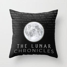 The Lunar Chronicles (Design 2) Throw Pillow