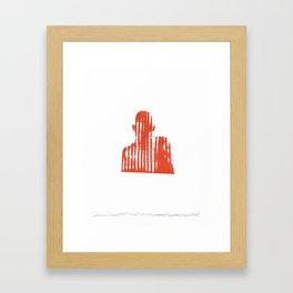 Pyrotechnics II Framed Art Print