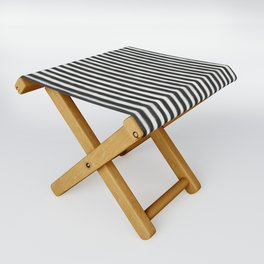 geo brush stripe vertical Folding Stool