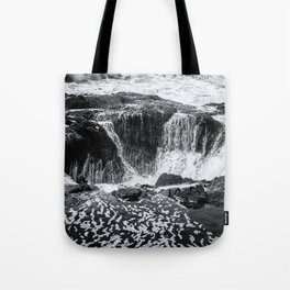 Thor's Well, No. 3 bw Tote Bag