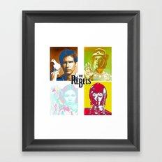 The Rebels Framed Art Print